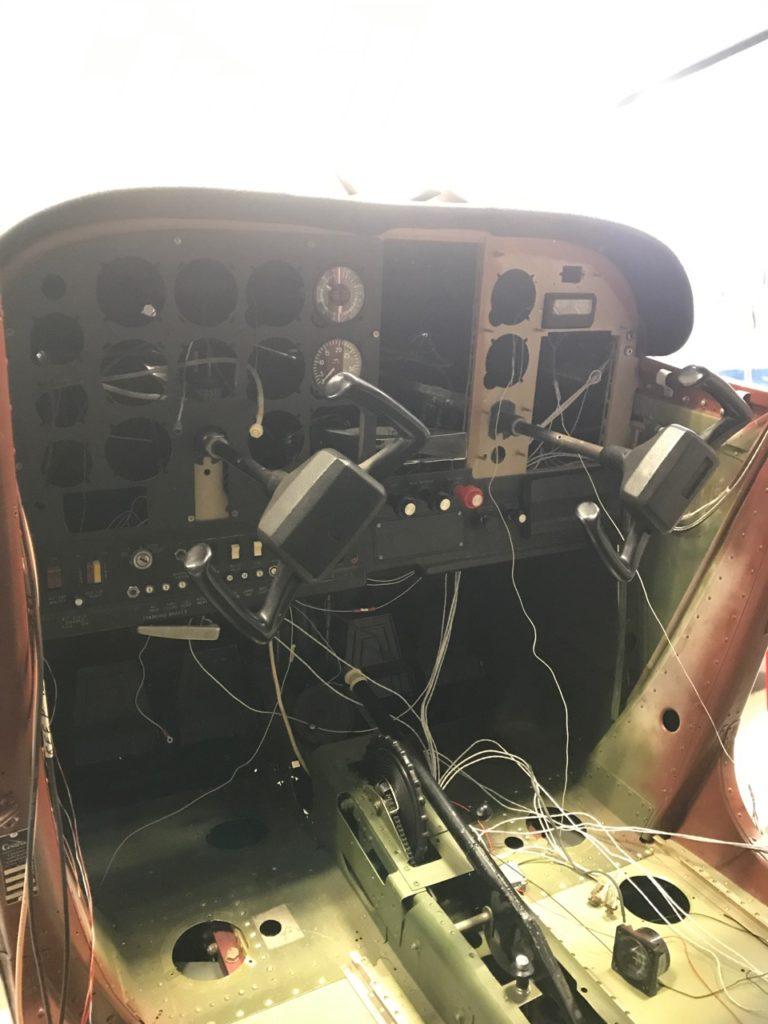78DE panel before
